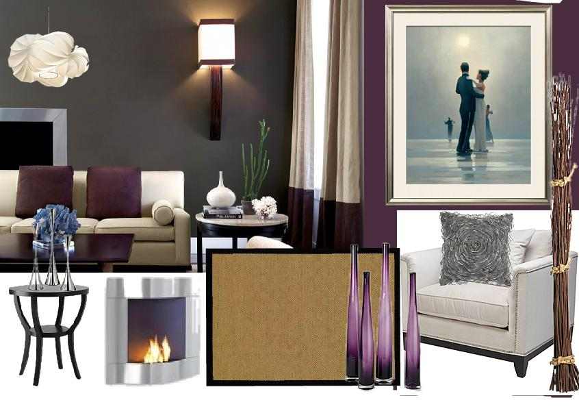 living room purple colour schemes interior design creating a purple color scheme 23914