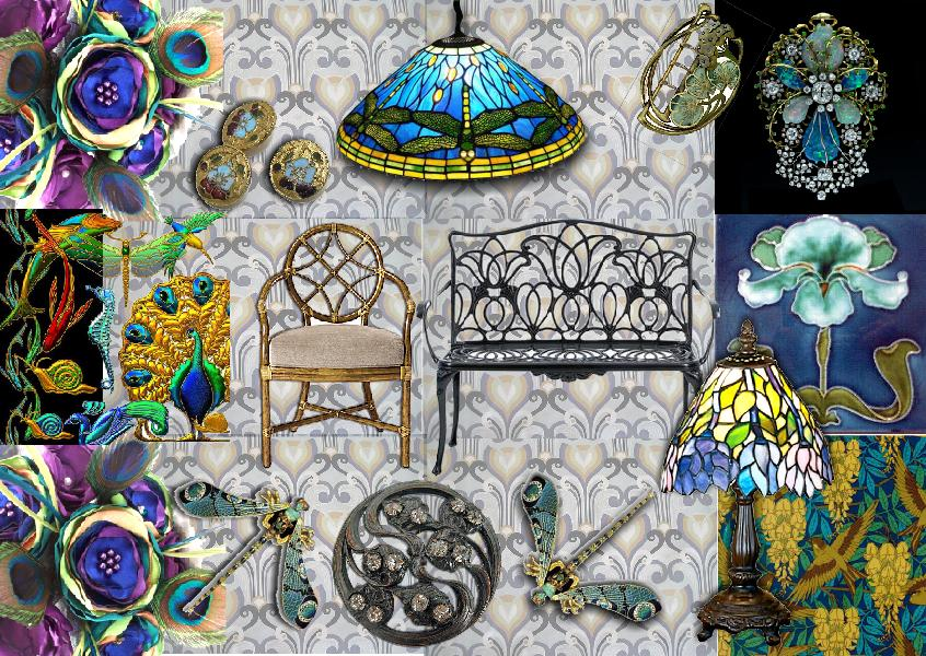 art nouveau style how to create the art nouveau look