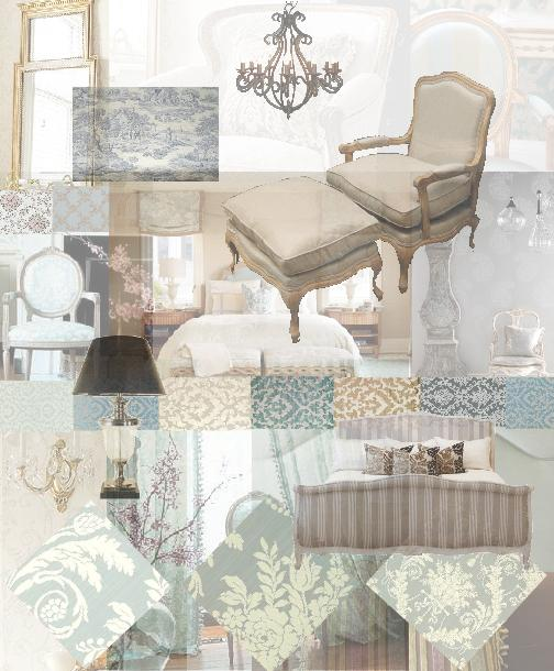 Interior Design inspirational moodboard | French provincial ...