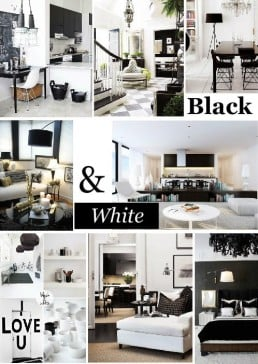 4 Tips To Add Black To Your White Interior Design - SampleBoard Blog