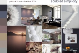 Style, Substance and Color: Major Trends and Directions for 2014 {sculpted simplicity} - SampleBoard Blog