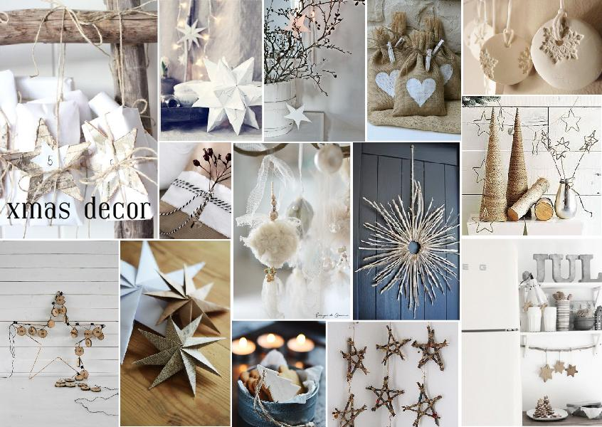 christmas decor interior mood board