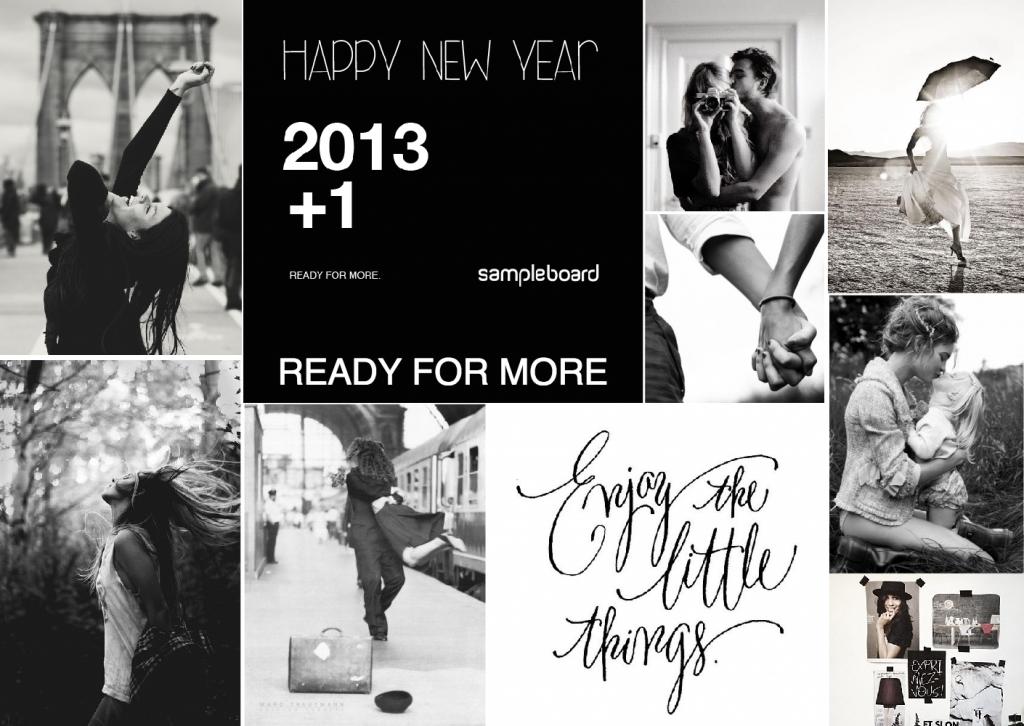 Happy New Year 2014 mood board