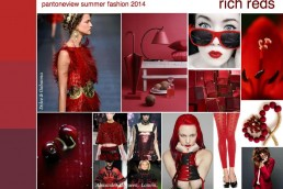pantone fashion 2014 trend mood board rich reds