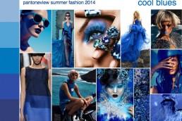 summer 2014 fashion trend mood board cool blues