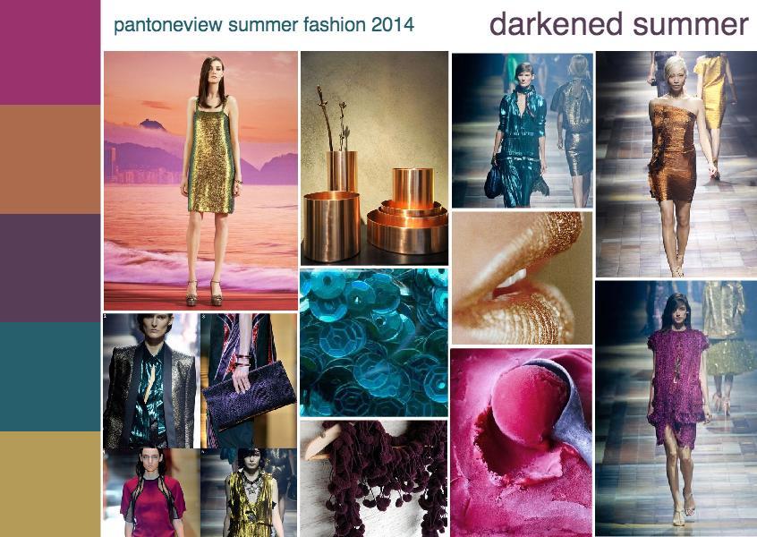 summer 2014 fashion trend mood board