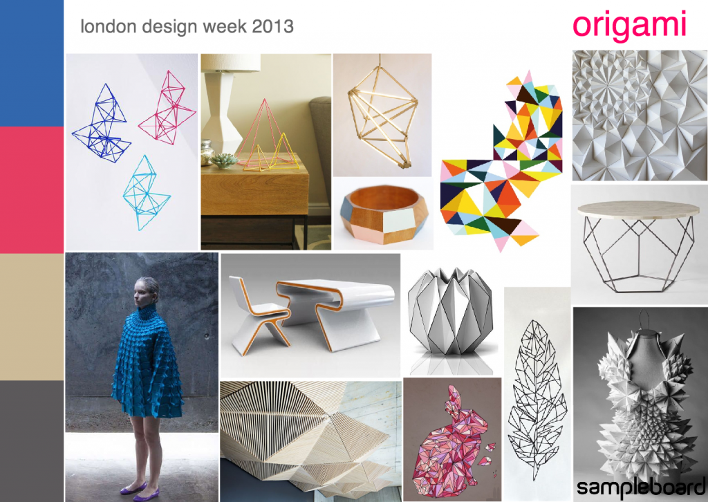 London Design Week: Trends and Directions for 2014 | Origami ...