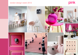 London Design Week: Trends and Directions | Pink - SampleBoard Blog