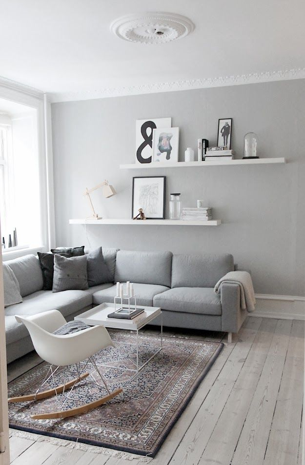 Interior Design Ideas Grey Walls Scandi Style