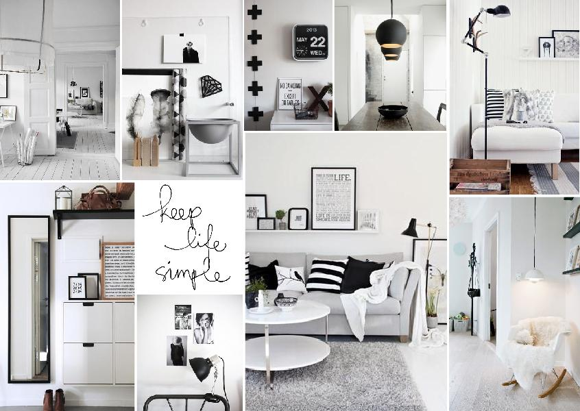 Interior Design Ideas // Grey walls + Scandinavian Style ...