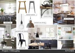 Nordic kitchen mood board created with www.sampleboard.com