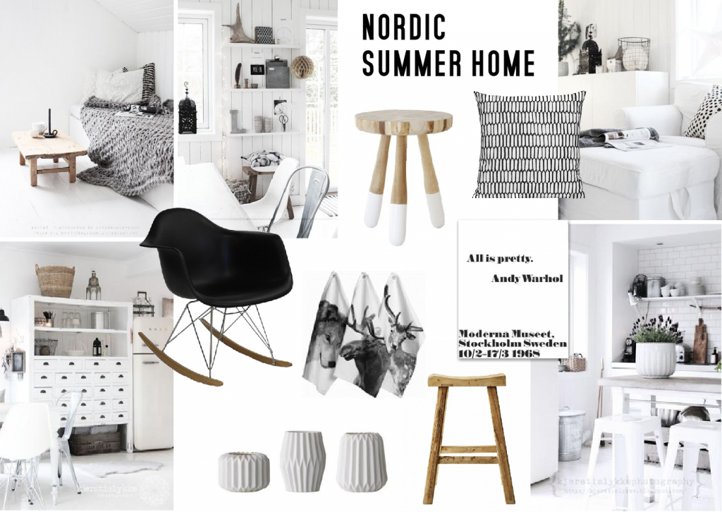 Summer Home Inspiration Nordic Design Sampleboard Blog