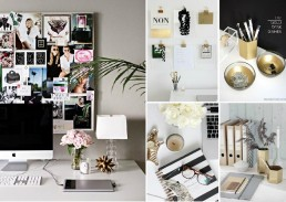home office organization mood board