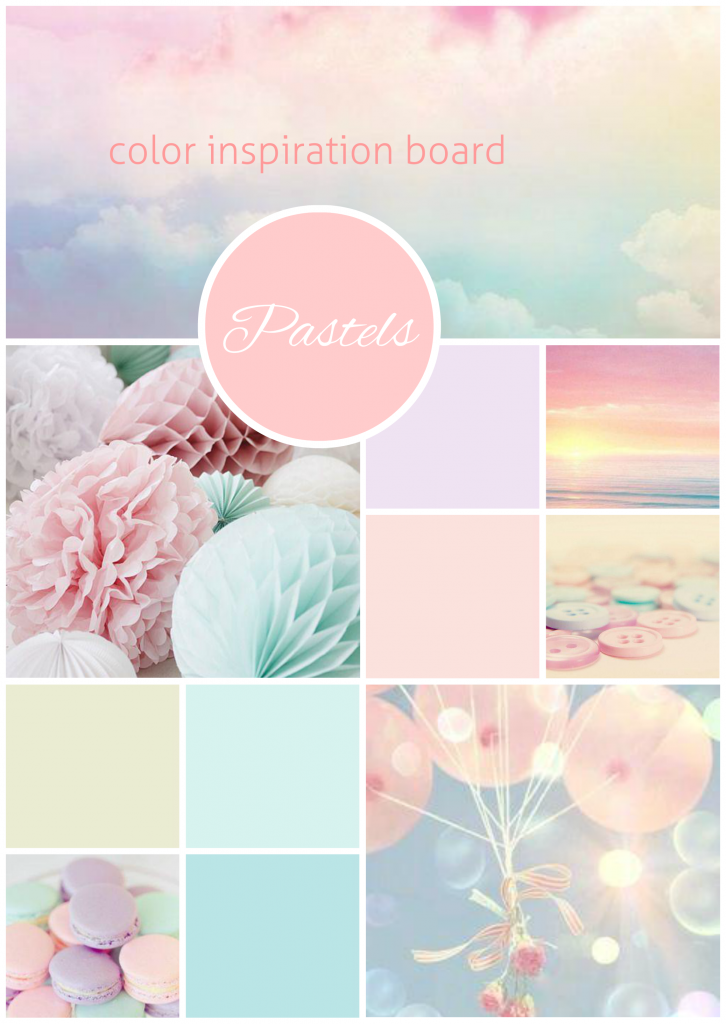 colour inspiration board