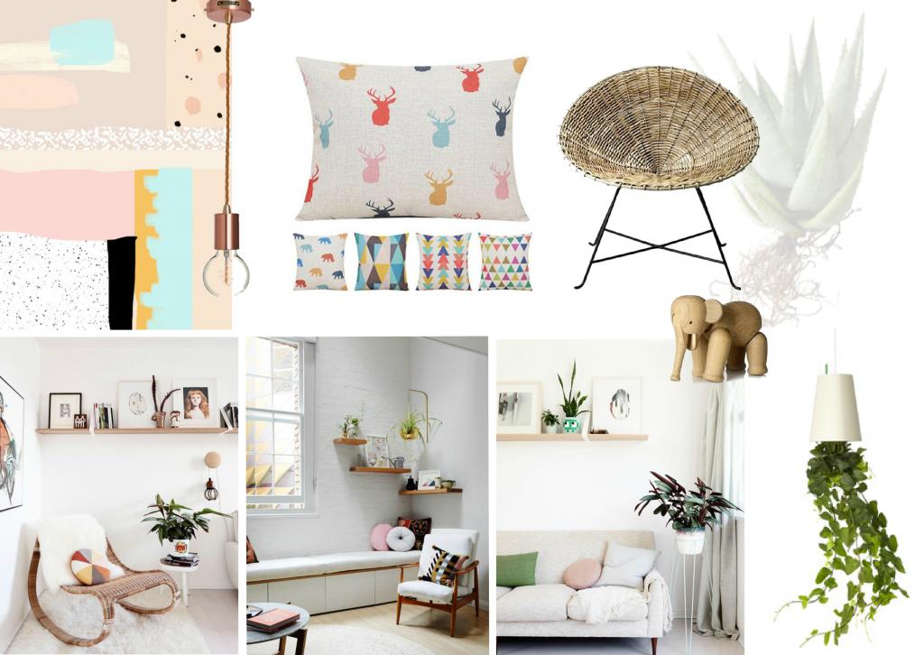Living Room Daydream moodboard