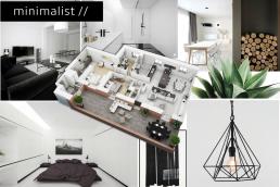 Minimalist Interior Design Moodboard