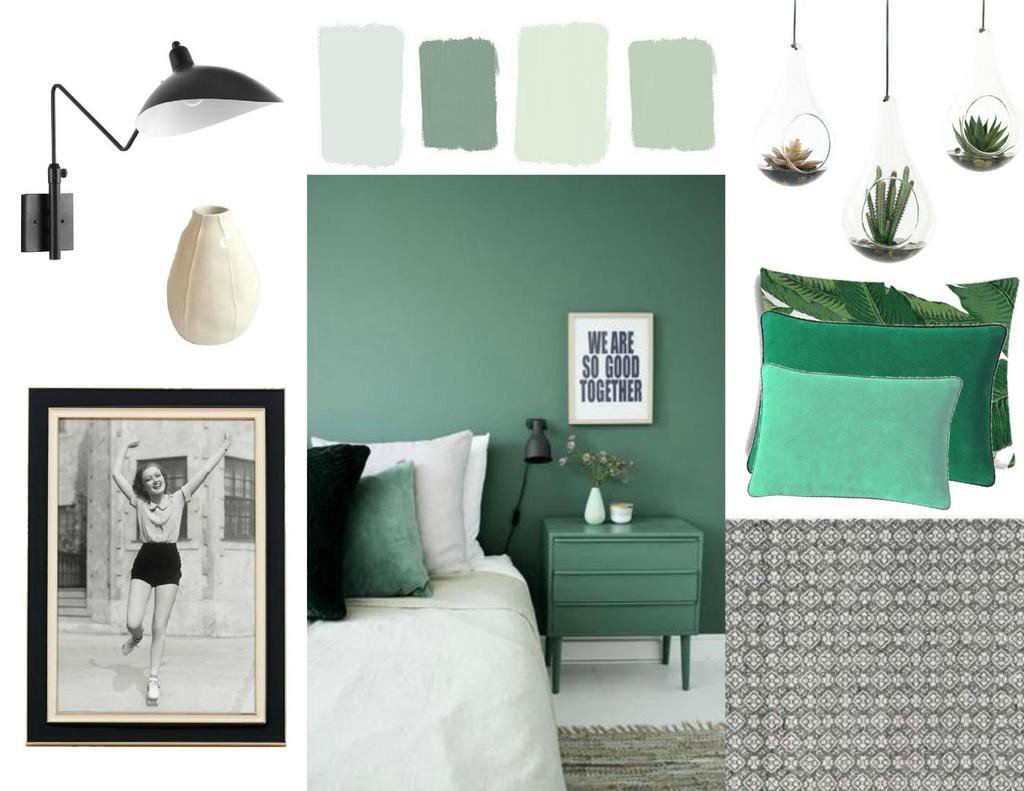 muted colors in the spotlight sampleboard blog