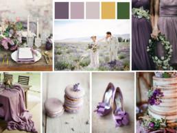 liliac wedding theme