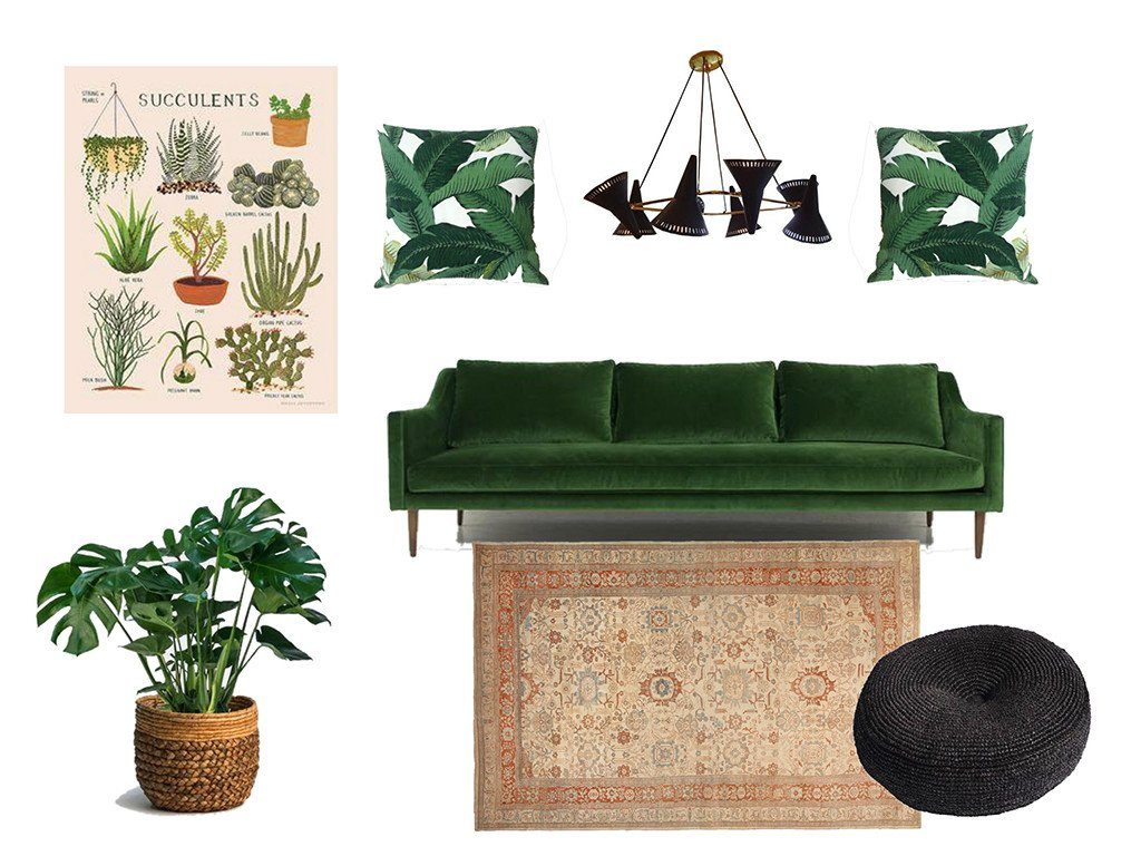 botanical trend interior