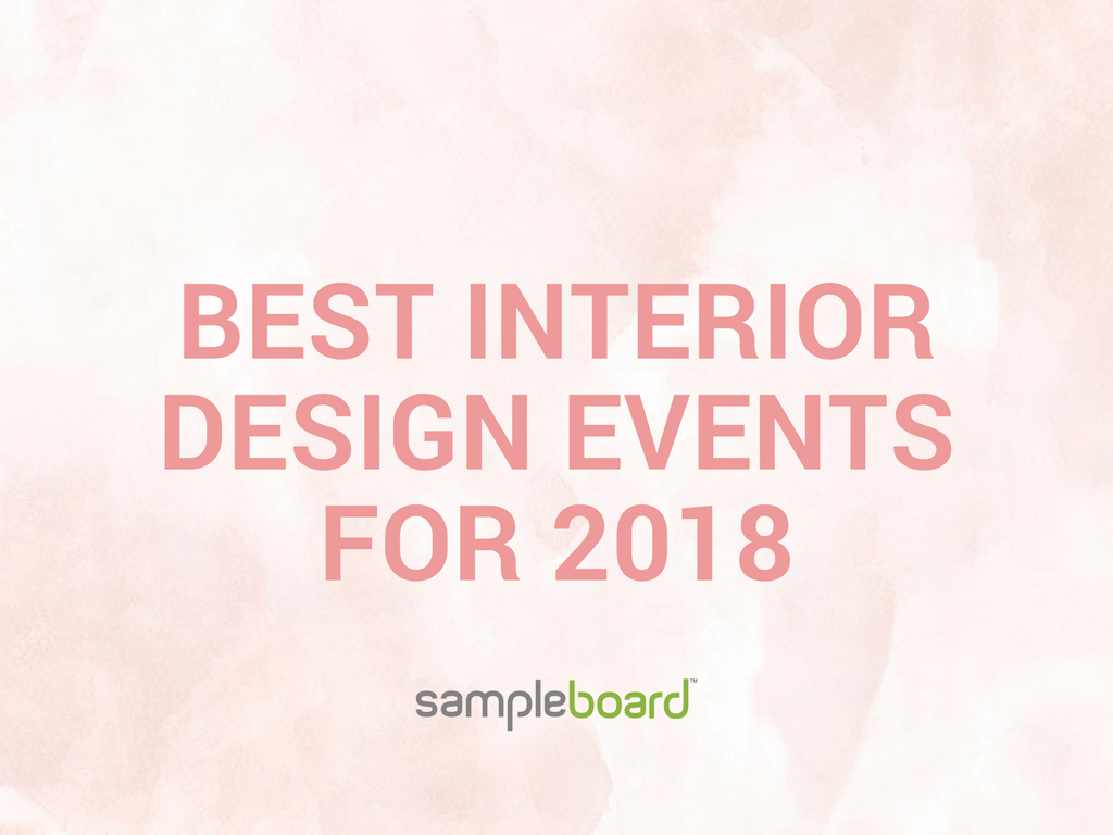 best interior design events for 2018