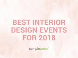 best interior design events for 2018