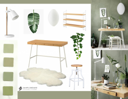 Sage Green - The Hottest Neutral for 2018 According to Pinterest - SampleBoard Blog -A blog about professional moodboard building, global design trends & creative inspiration for your next design project