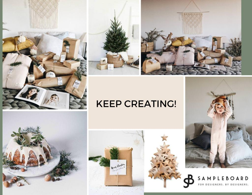 Happy New Year to Design Community - SampleBoard Team