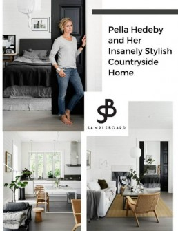 Pella Hedeby's Insanely Stylish Countryside Home - SampleBoard