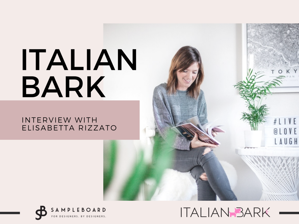 Design interviews on SampleBoard - Italian Bark - Interview with Elisabetta Rizzato