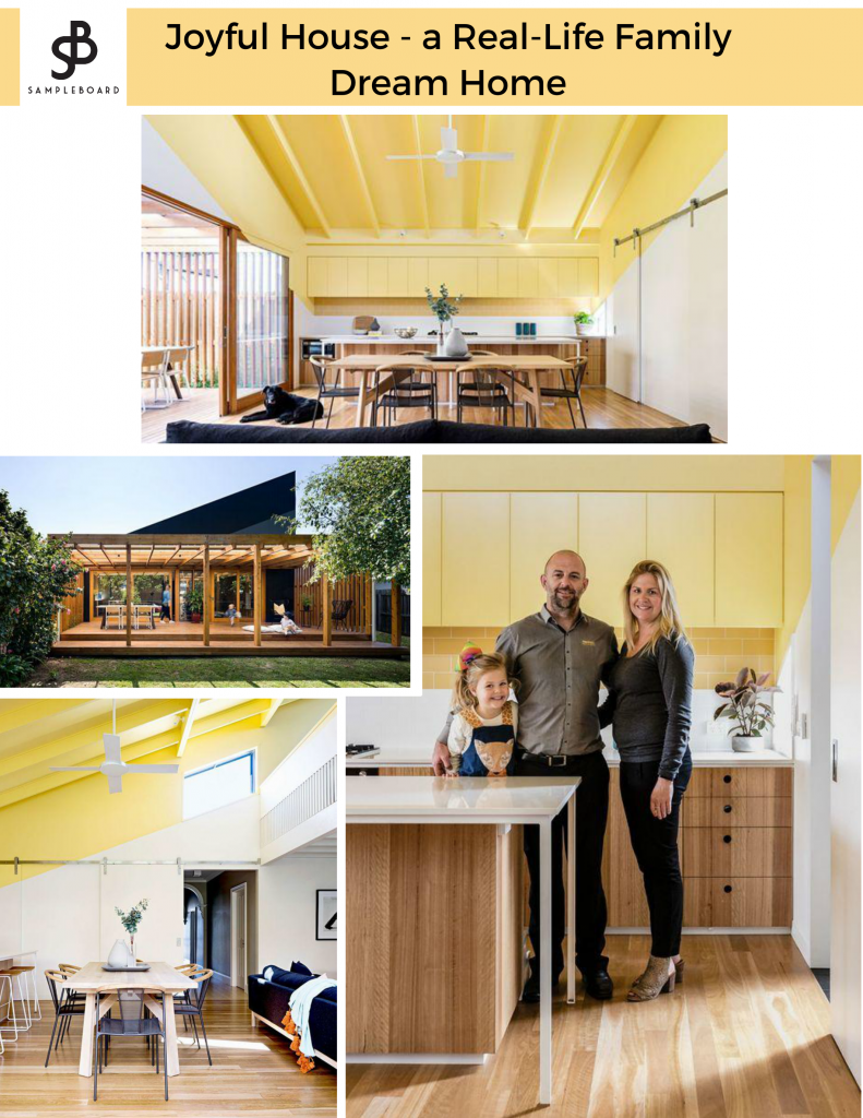 SampleBoard Interior Inspo -Joyful House: A Real-Life Family Dream Home