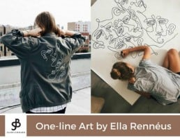 SampleBoard Crush: One line art by Ella Renneus - SampleBoard Blog - A blog about professional moodboard building, global design trends & creative inspiration for your next design project