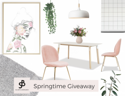 Springtime giveaway - Calling out for creative concepts (mood boards)