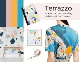 Trendspotting: Terrazzo Comeback + Get the Look - SampleBoard Blog - A blog about professional moodboard building, global design trends & creative inspiration for your next design project