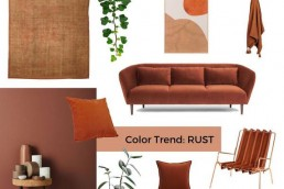 rust color trend