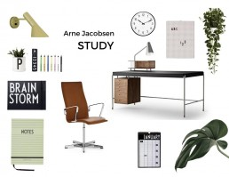 Iconic Furniture - Ever Growing Love for Arne Jacobsen's Furniture Designs - SampleBoard Blog