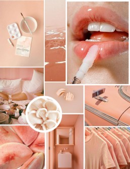 Is Peach the New Millennial Pink? - SampleBoard Inspiration Board