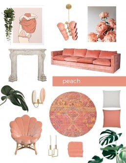 Is Peach the New Millennial Pink? - SampleBoard Style Board