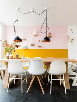 Gen Z Yellow and Millennial Pink: Trending Interior Color Combo - SampleBoard Blog