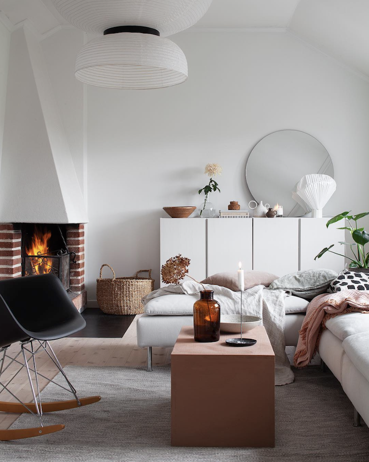 Pinterest Crush: Pastel Pink Scandinavian Interiors for a Hygge Home Experience - SampleBoard