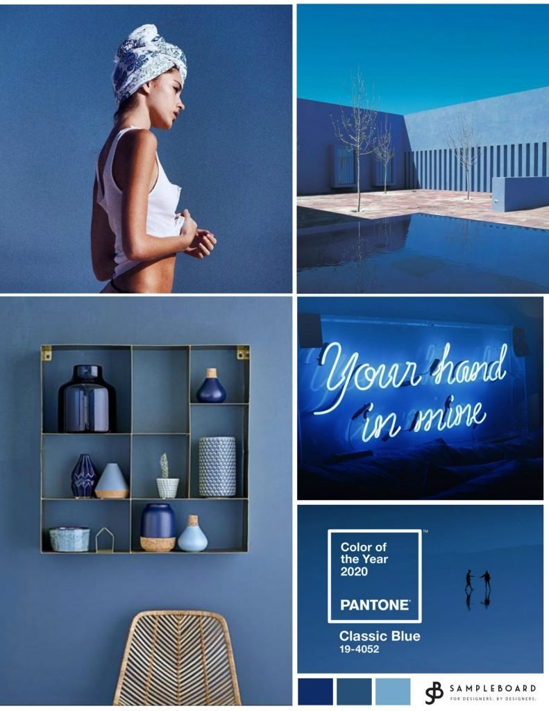 Pantone color of the year 2020: A timeless classic to paint the future | SampleBoard
