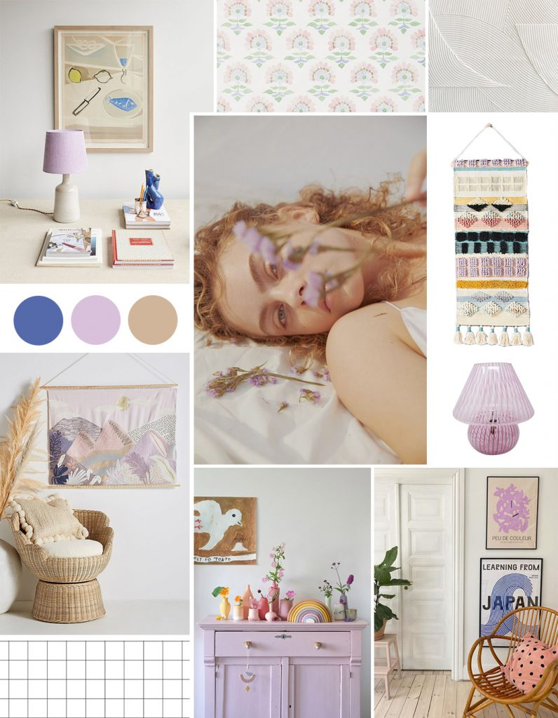 Color trends 2021: Millennial Purple interior obsession
